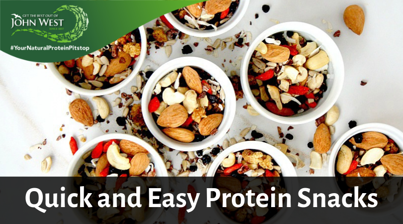 quick and easy protein snacks